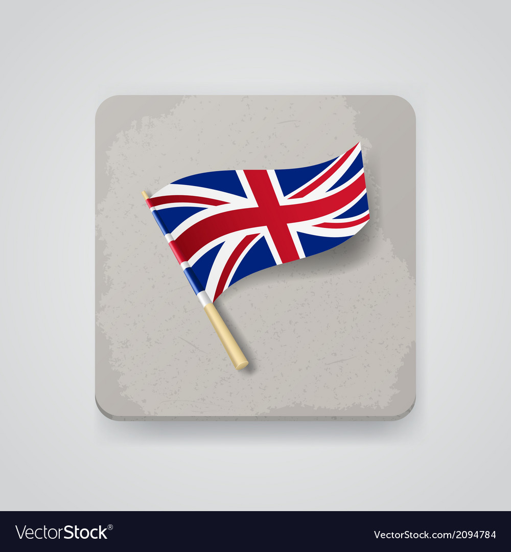 Great britain flag icon vector | Price: 1 Credit (USD $1)