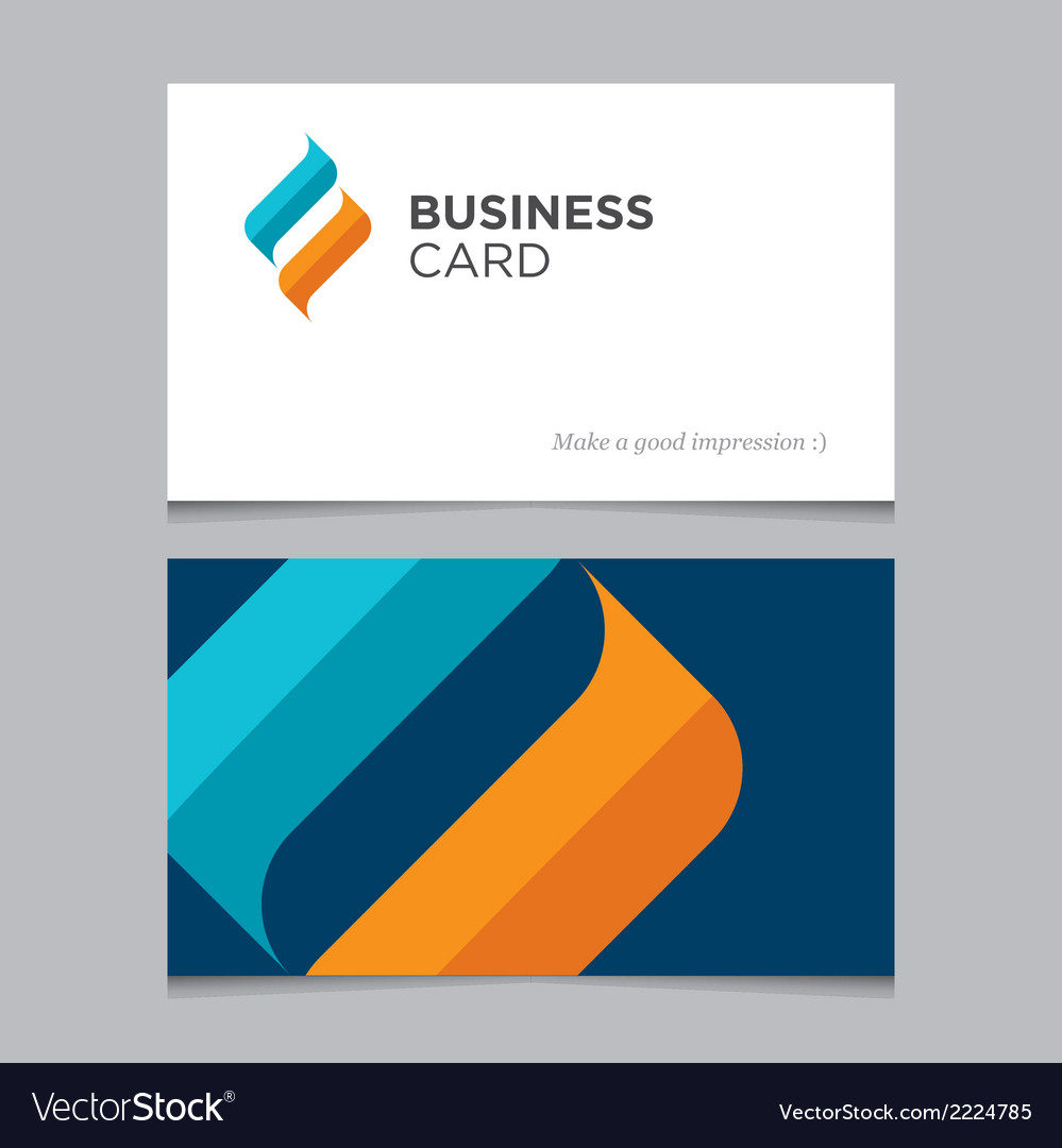 Business card 02 vector | Price: 1 Credit (USD $1)