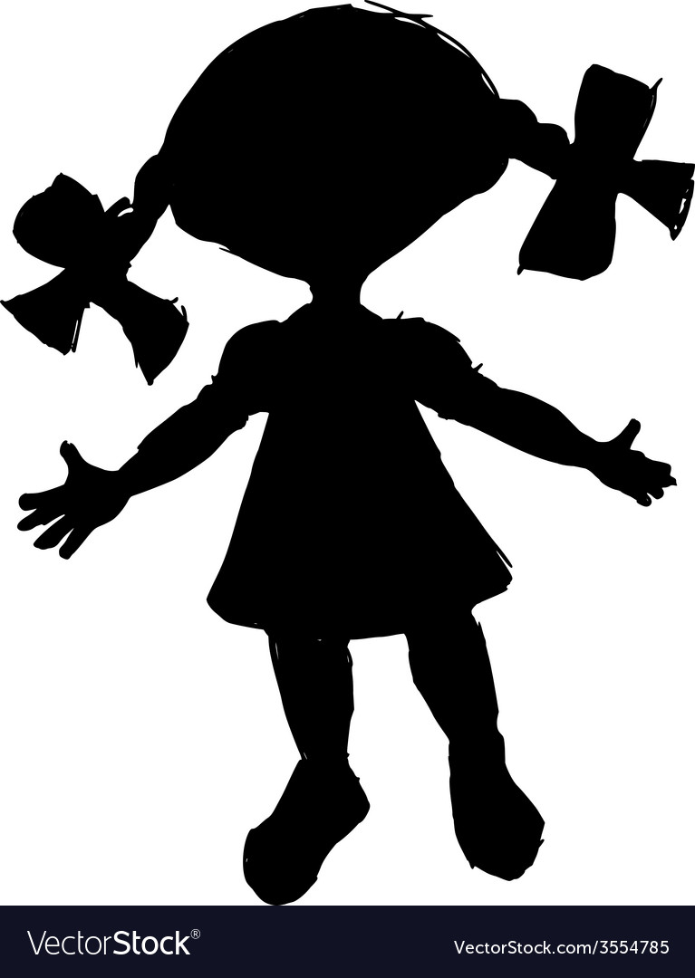 Little doll vector | Price: 1 Credit (USD $1)