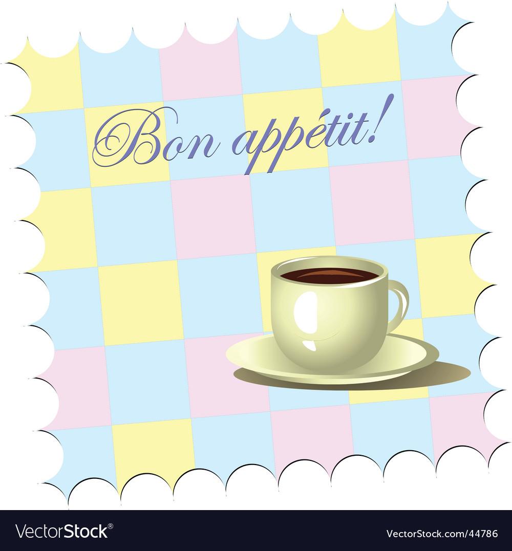 Bon appetite vector | Price: 1 Credit (USD $1)