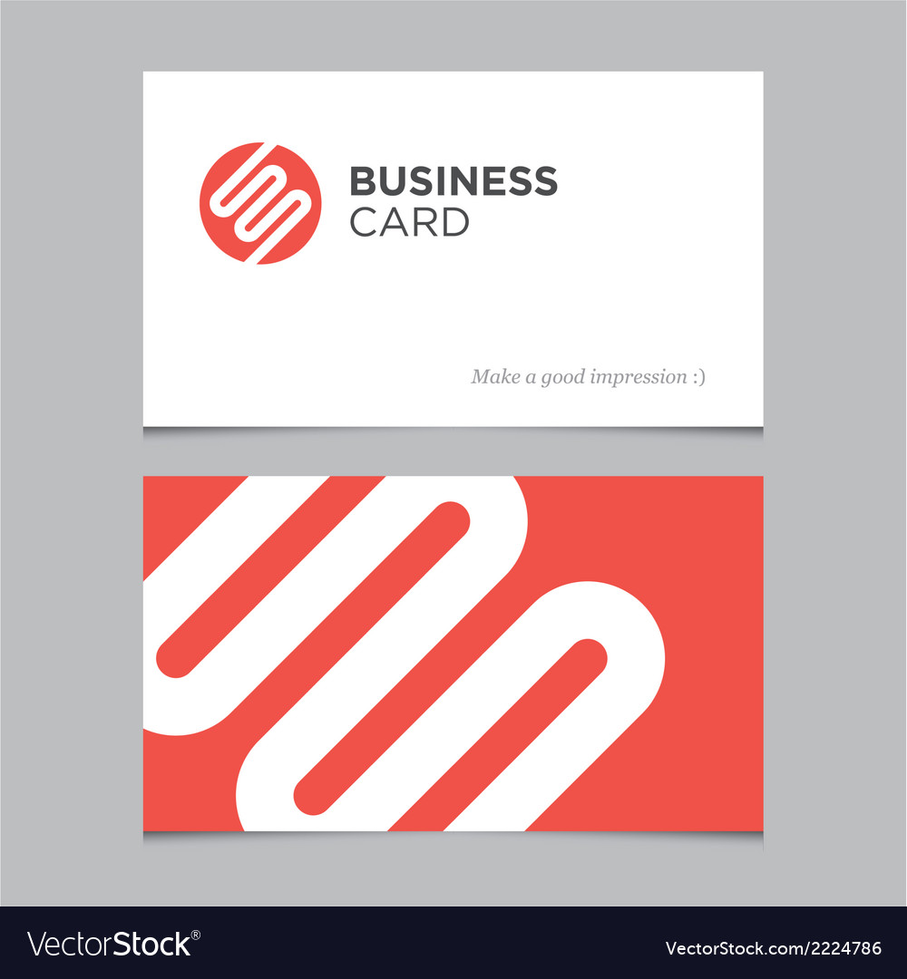 Business card 03 vector | Price: 1 Credit (USD $1)