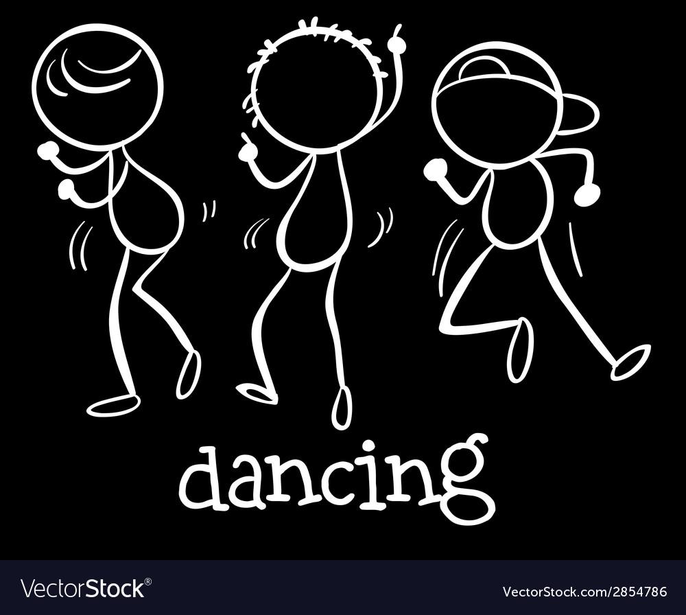Dancing vector | Price: 1 Credit (USD $1)