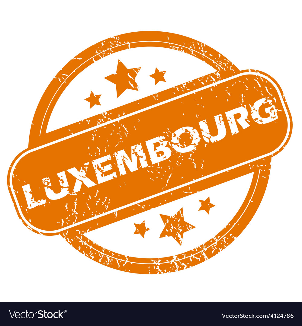 Luxembourg grunge icon vector | Price: 1 Credit (USD $1)