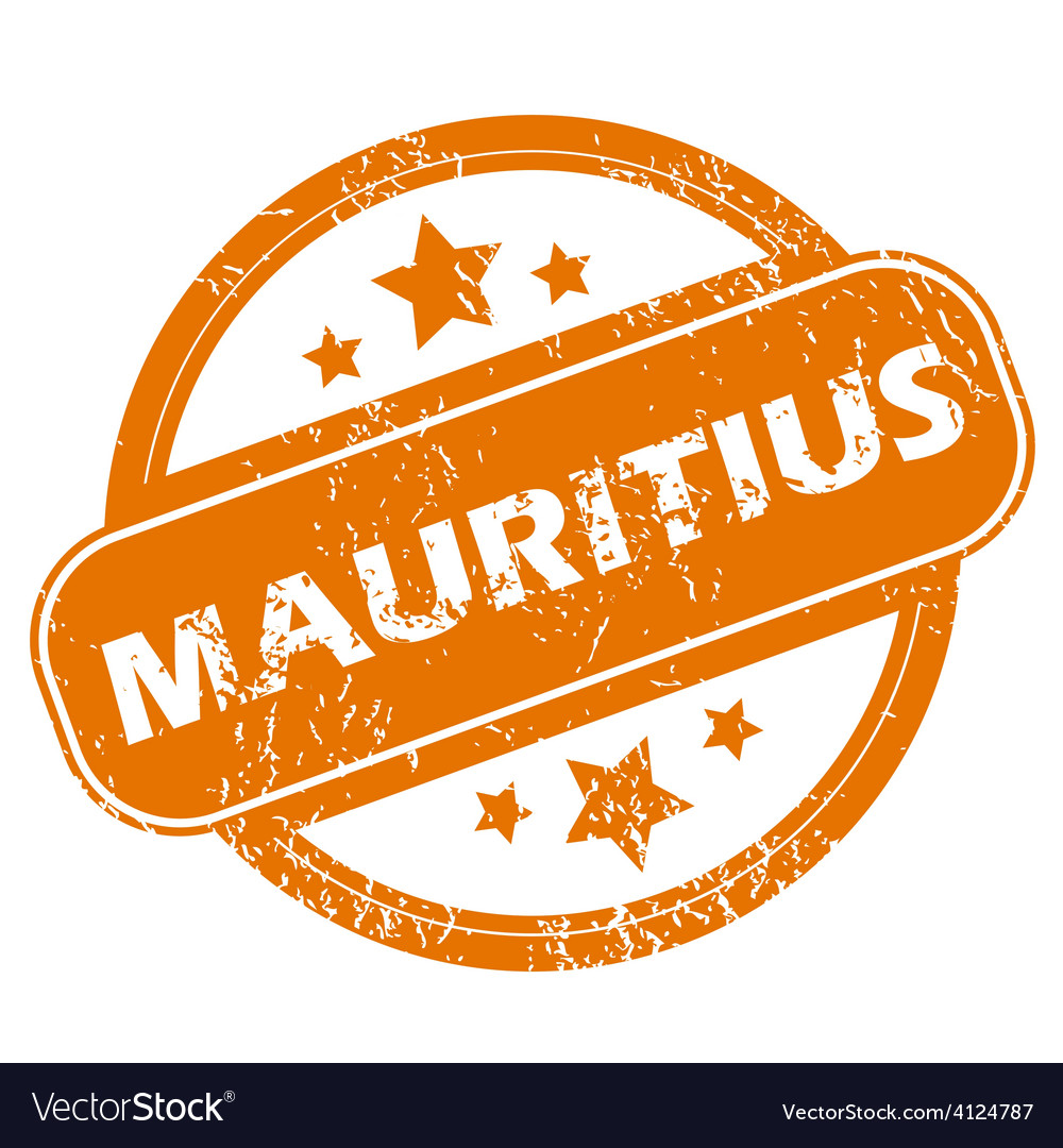 Mauritius grunge icon vector | Price: 1 Credit (USD $1)