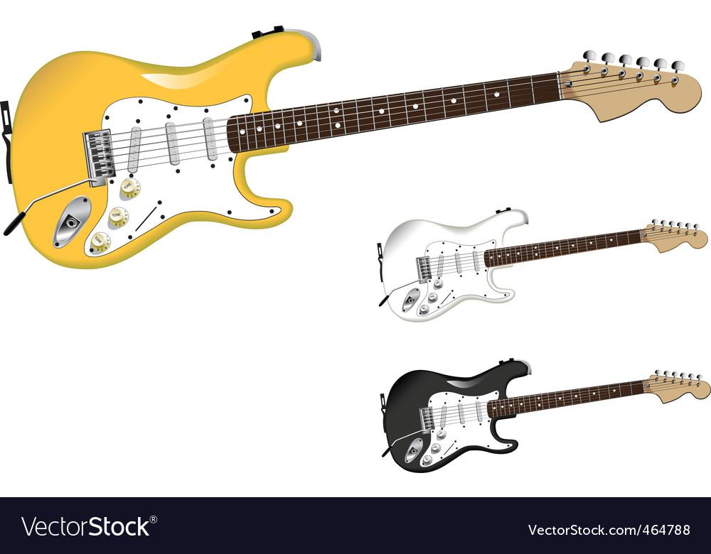 Electro guitar vector   Price: 1 Credit (USD $1)