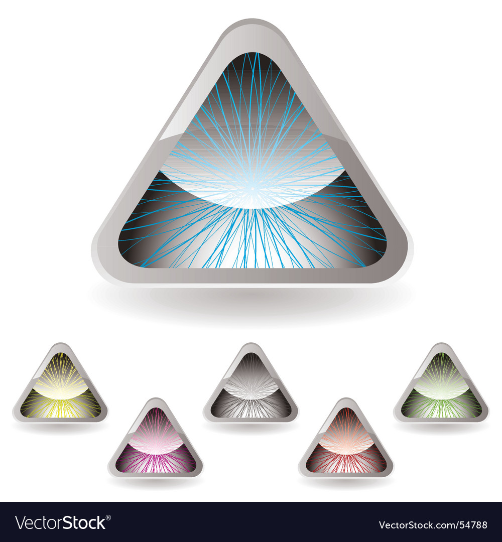 Triangle iris vector | Price: 1 Credit (USD $1)