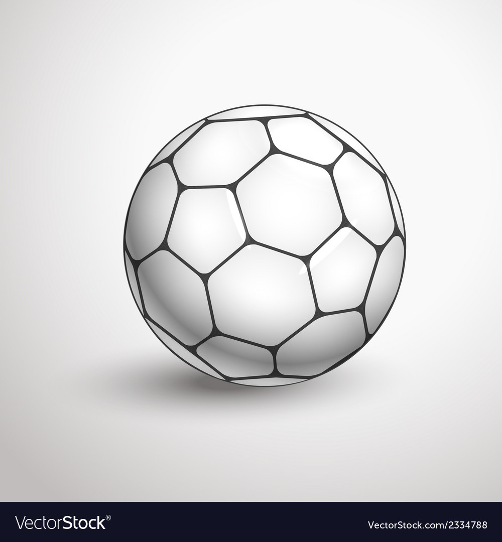 World football championship ball vector | Price: 1 Credit (USD $1)