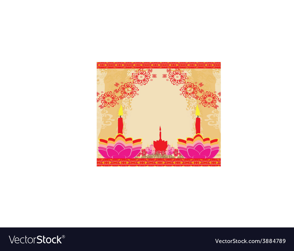 Abstract diwali celebration background vector | Price: 1 Credit (USD $1)