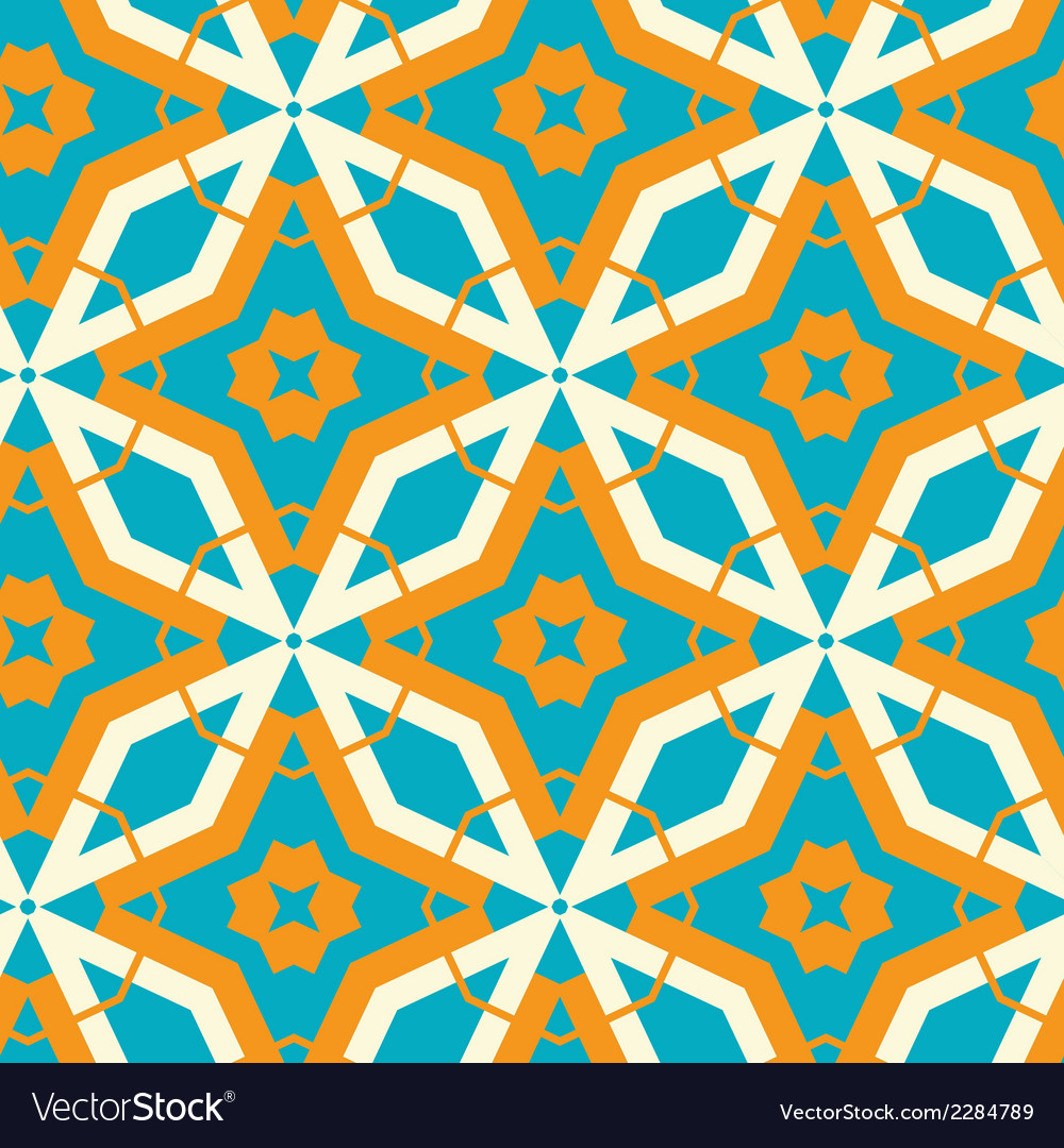 Abstract retro pattern vector | Price: 1 Credit (USD $1)