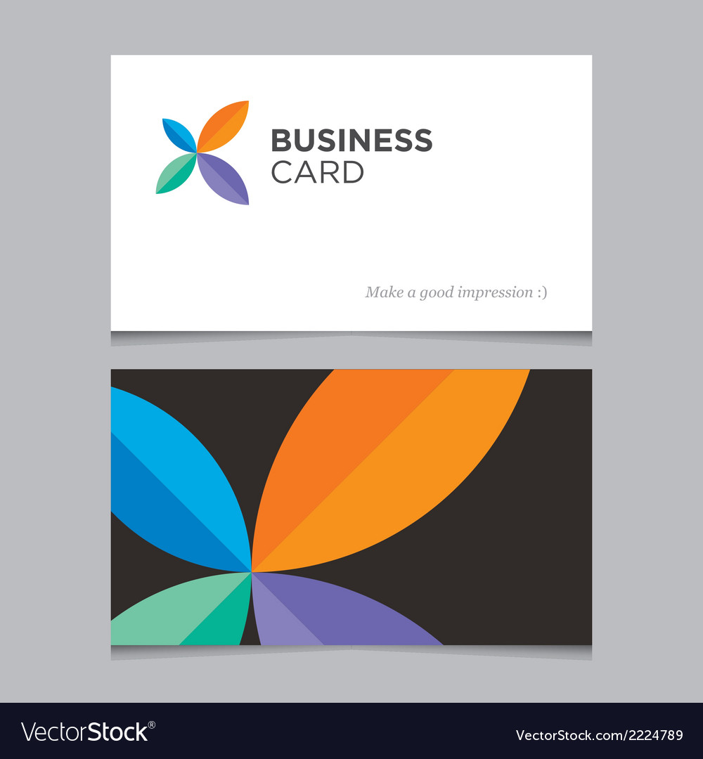 Business card 05 vector | Price: 1 Credit (USD $1)