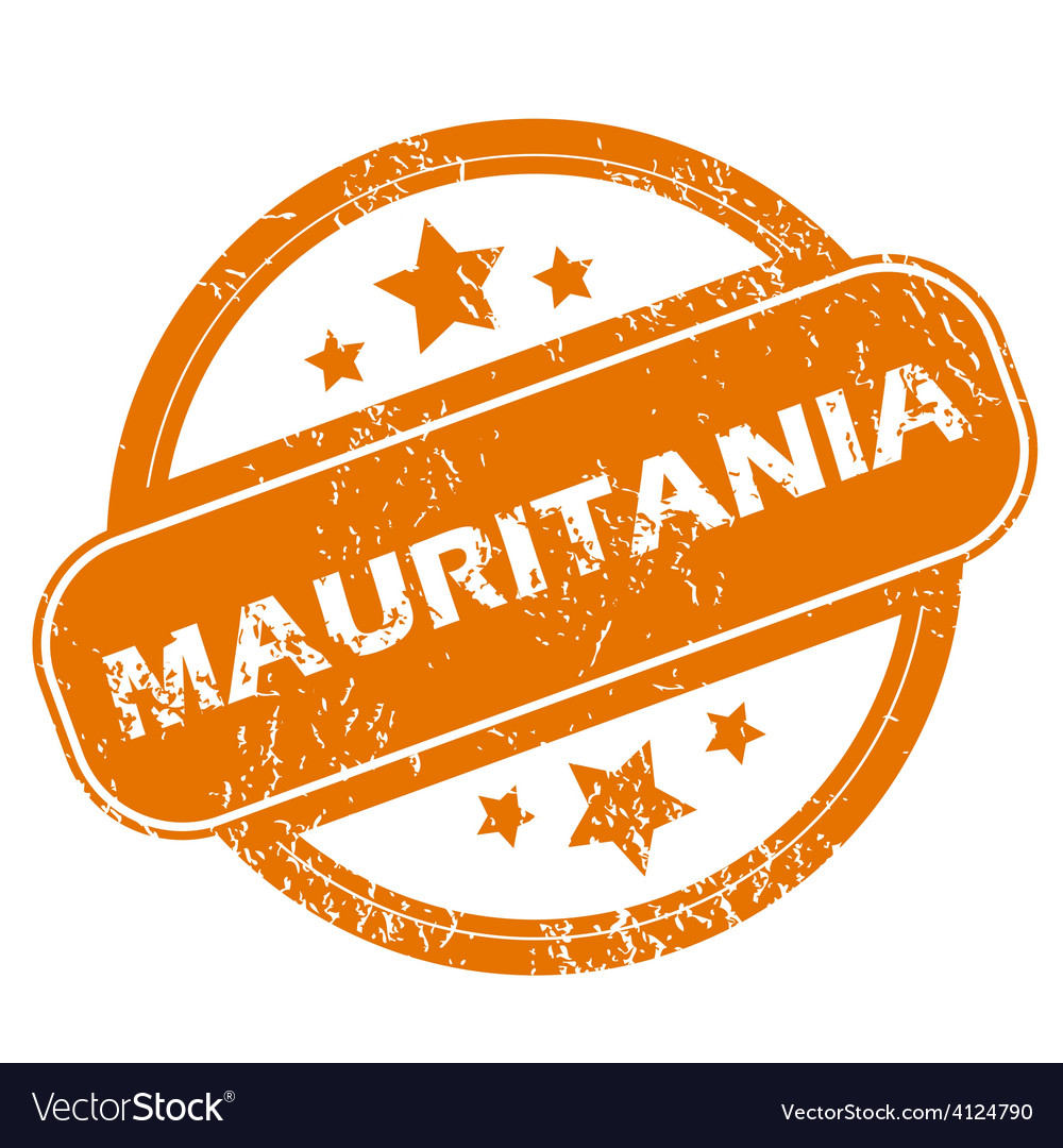 Mauritania grunge icon vector | Price: 1 Credit (USD $1)