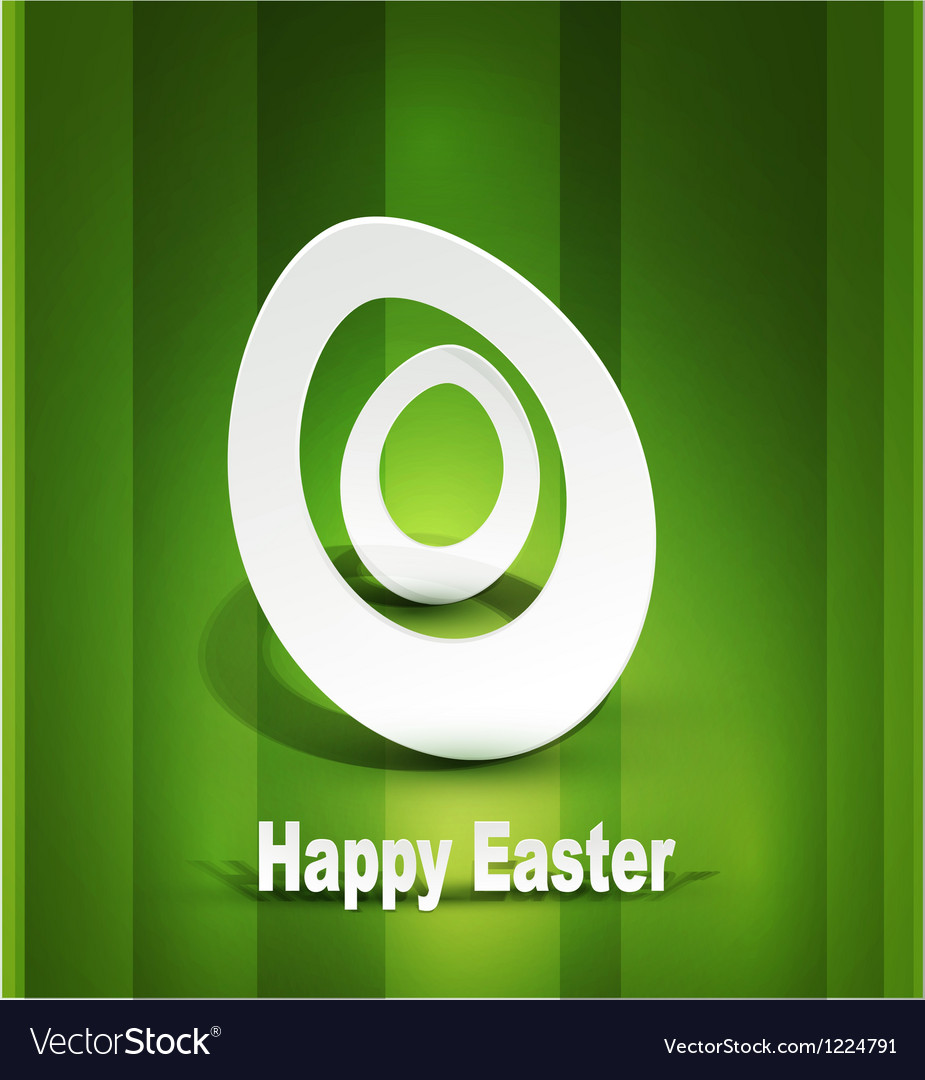 Background with easter egg 3d vector   Price: 1 Credit (USD $1)