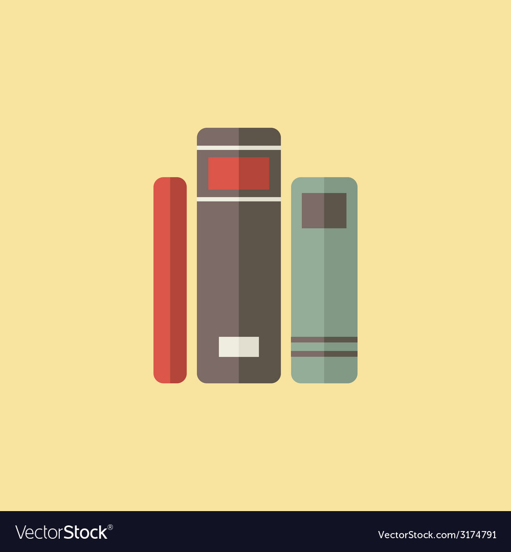 Library icon vector | Price: 1 Credit (USD $1)