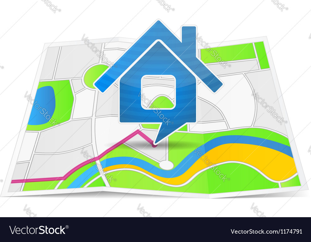 Path to the house vector   Price: 1 Credit (USD $1)