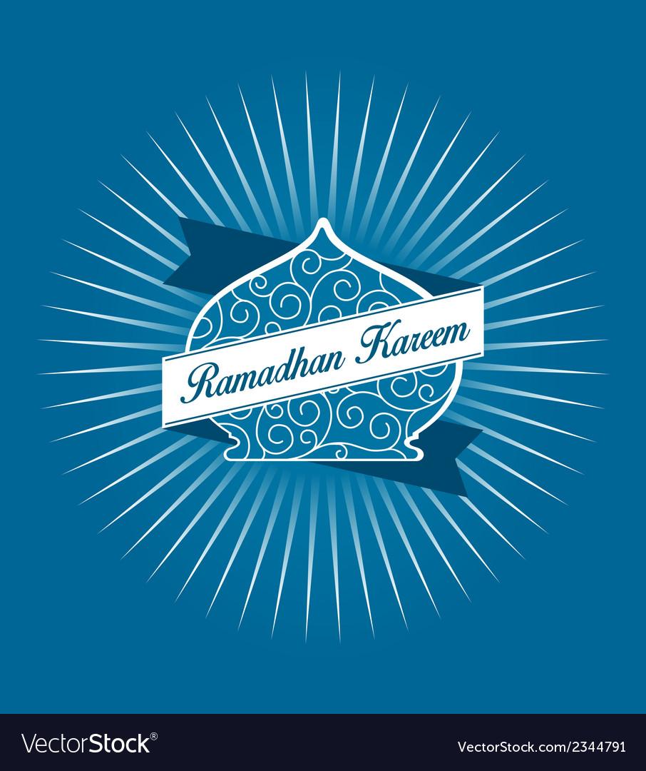 Ramadhan kareem vector | Price: 1 Credit (USD $1)