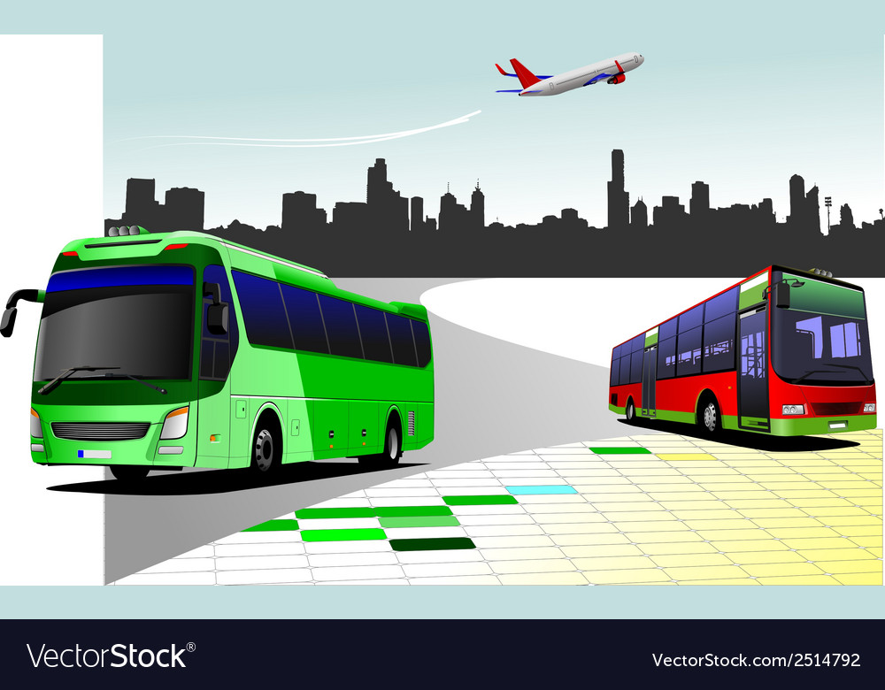 Al 0216 bus 01 vector | Price: 1 Credit (USD $1)