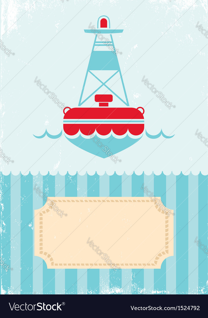 Buoy vector | Price: 1 Credit (USD $1)