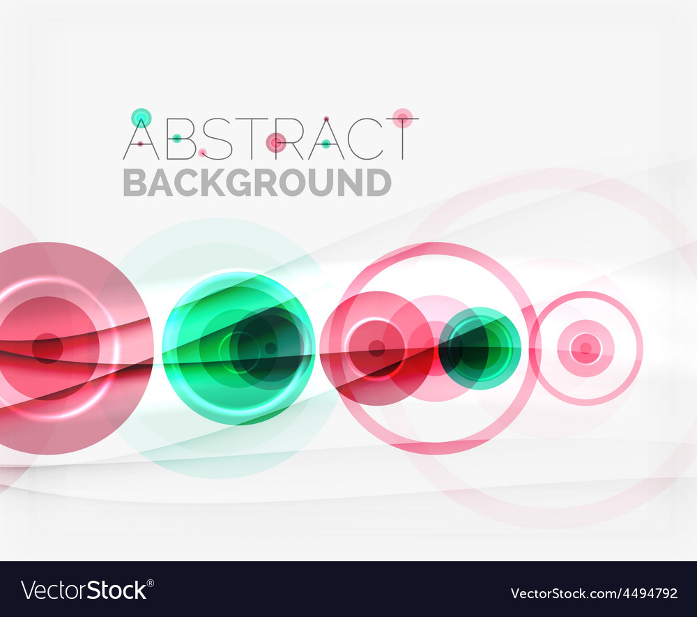 Circle geometric shape composition vector | Price: 1 Credit (USD $1)