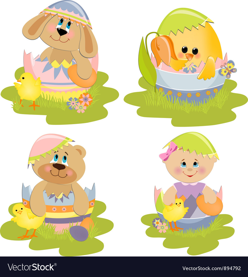 Cute easter vector   Price: 1 Credit (USD $1)