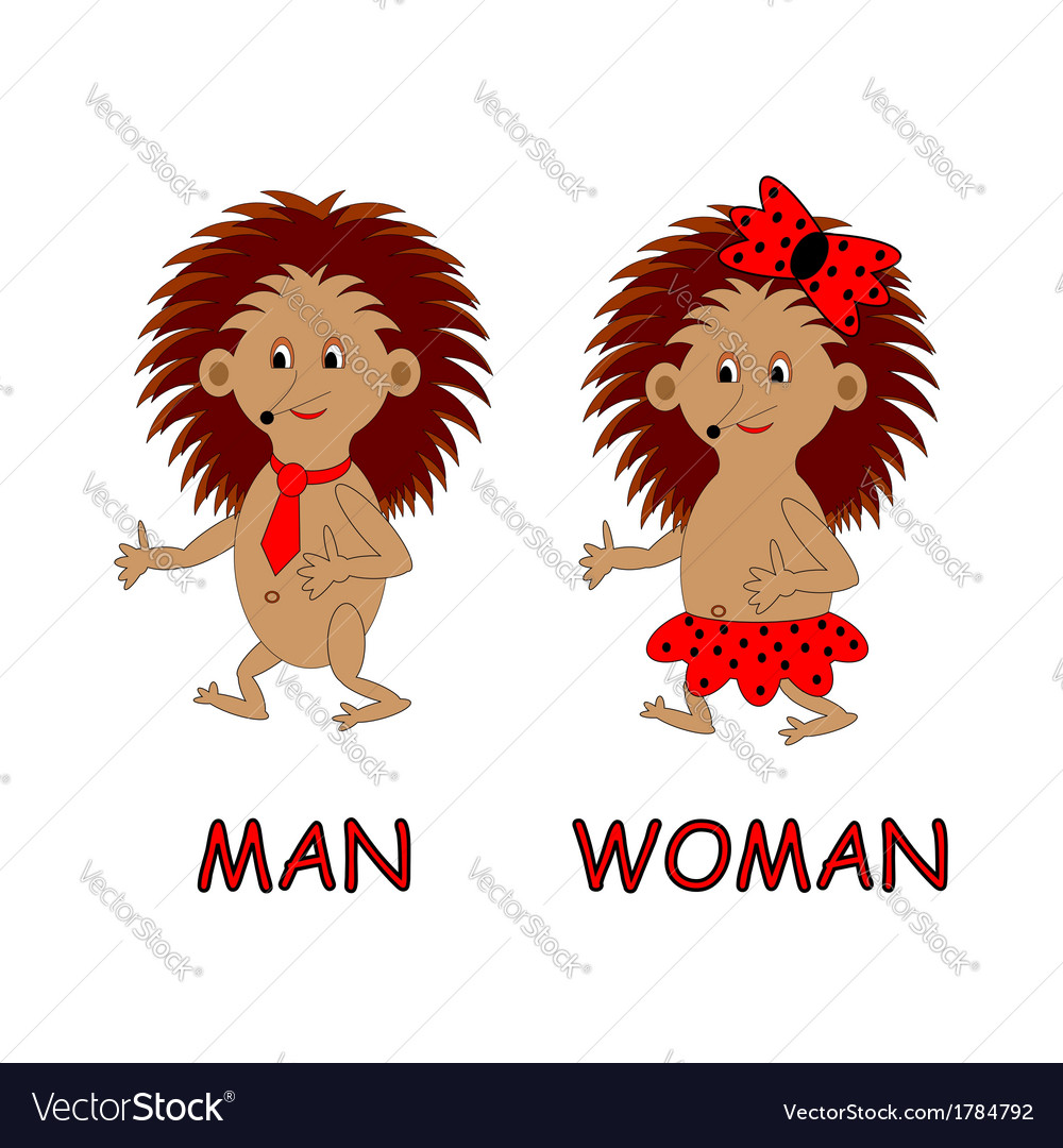 Man and woman toilet signs vector | Price: 1 Credit (USD $1)