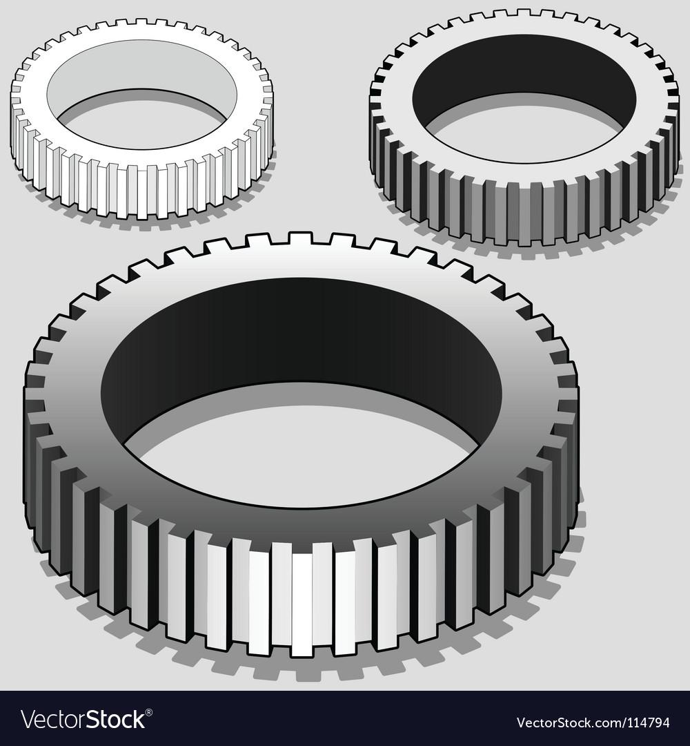 3d gears vector | Price: 3 Credit (USD $3)