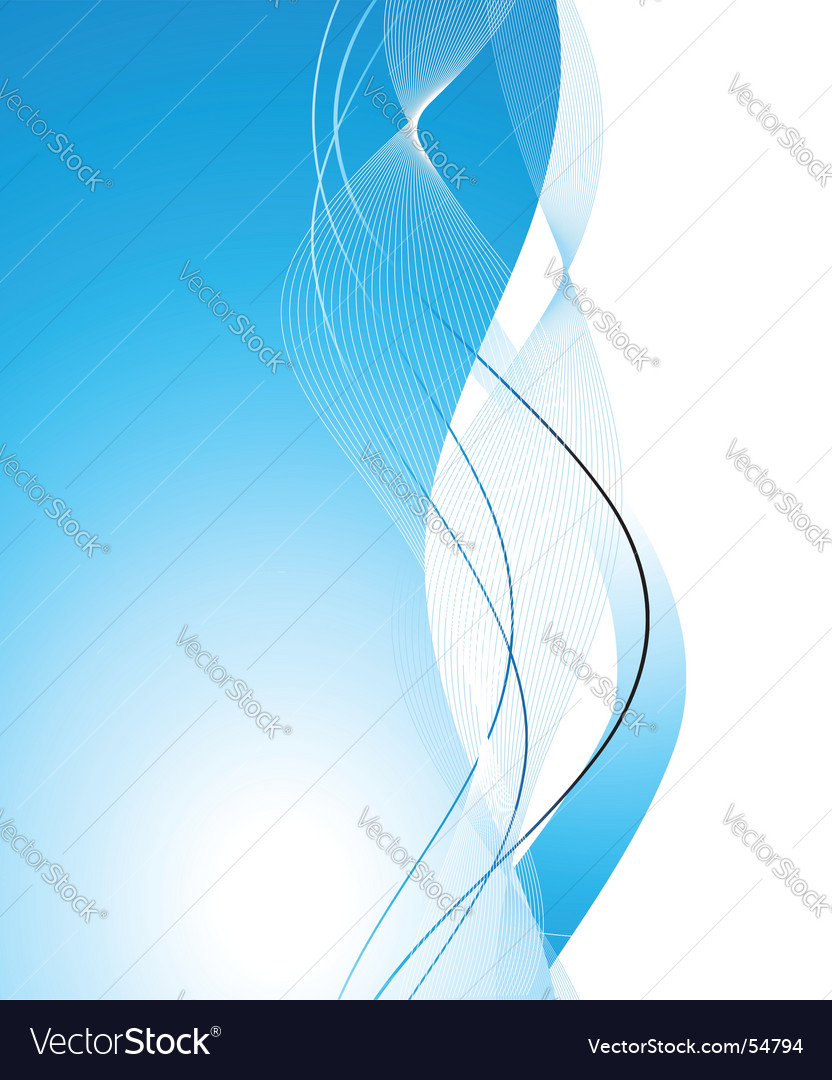 Abstract background wave vector | Price: 1 Credit (USD $1)