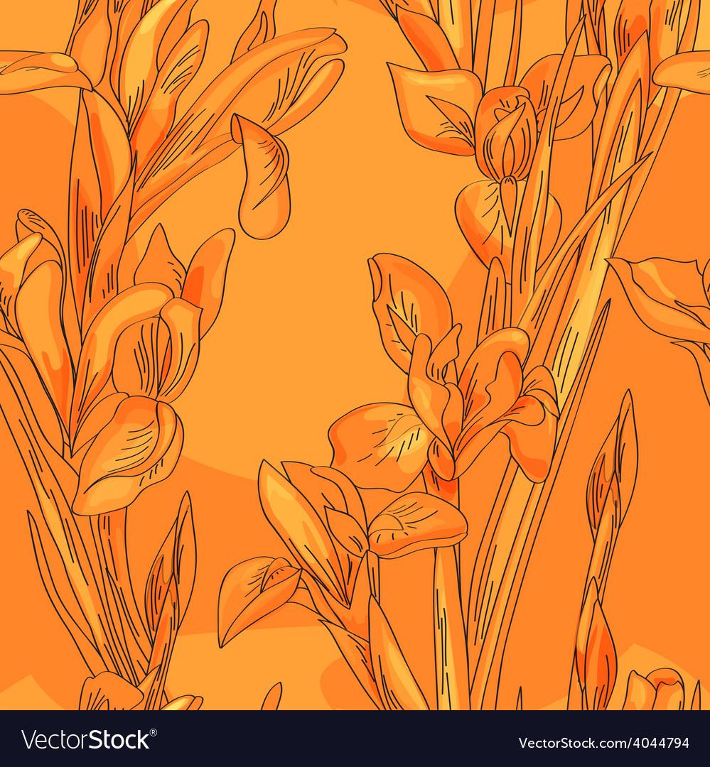 Blue irises vector   Price: 1 Credit (USD $1)