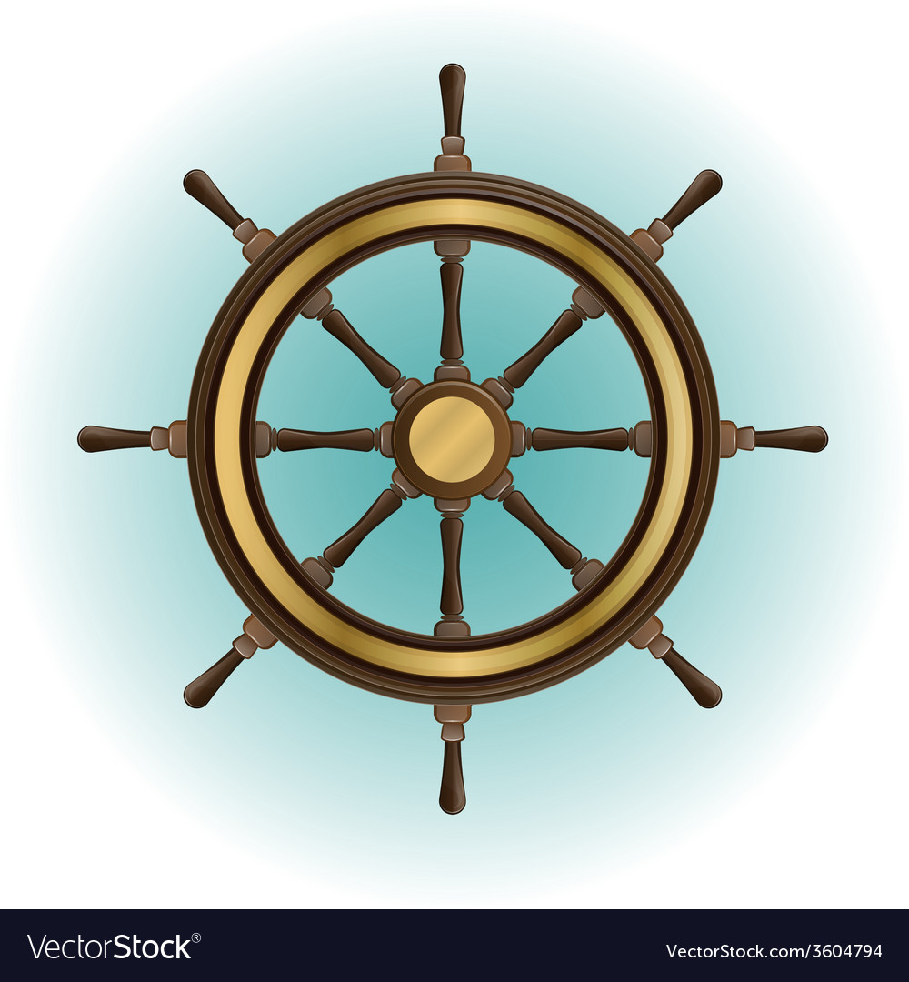 Boat wheel vector | Price: 1 Credit (USD $1)