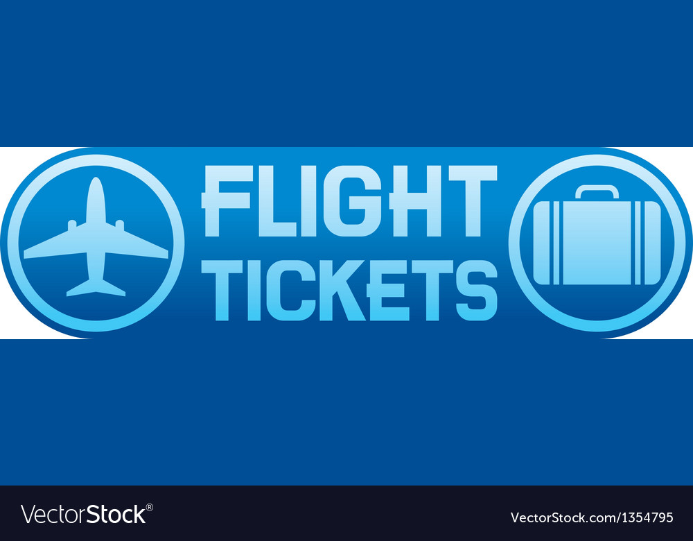 Flight tickets vector | Price: 1 Credit (USD $1)