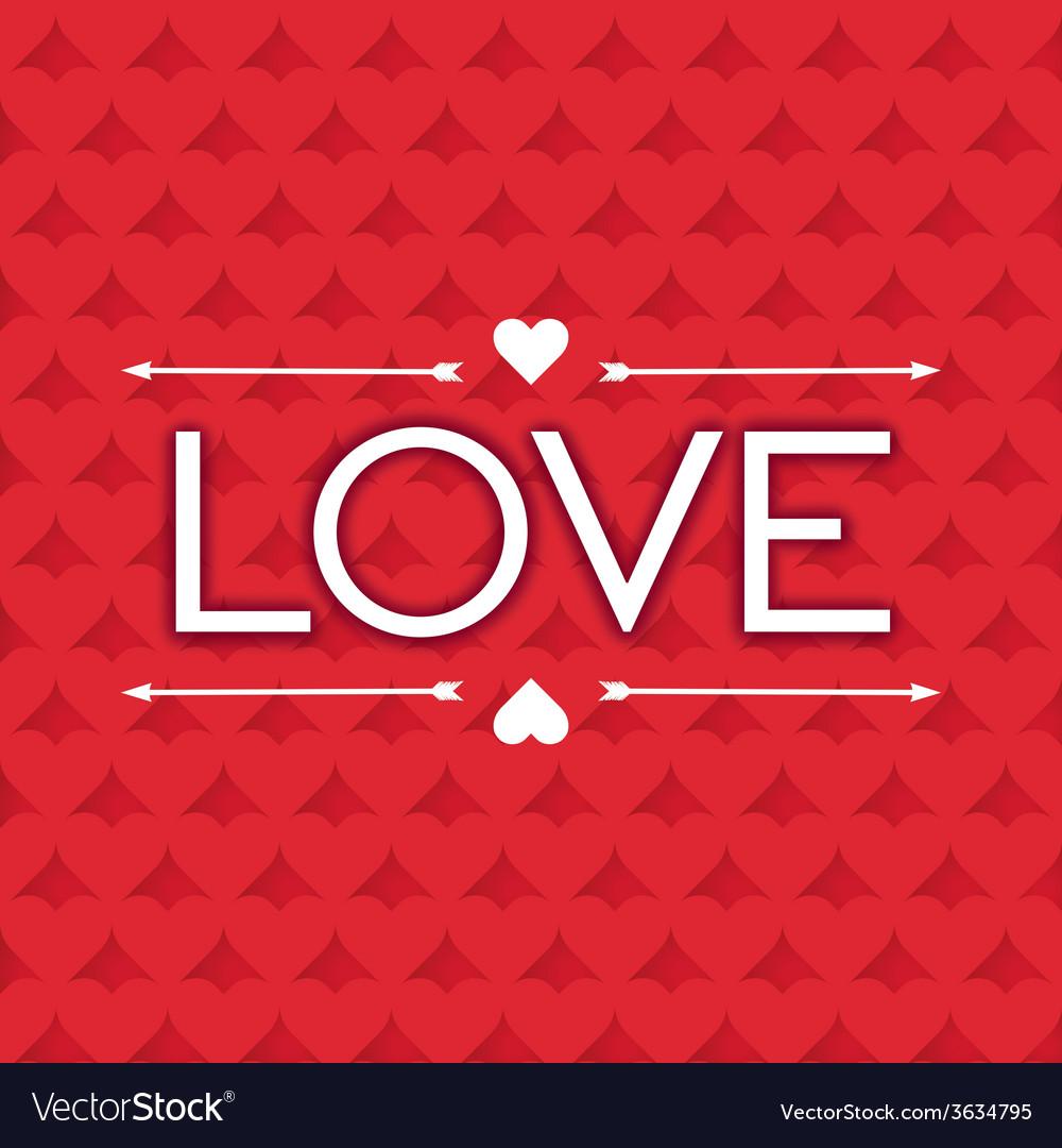 Lettering design word love vector | Price: 1 Credit (USD $1)