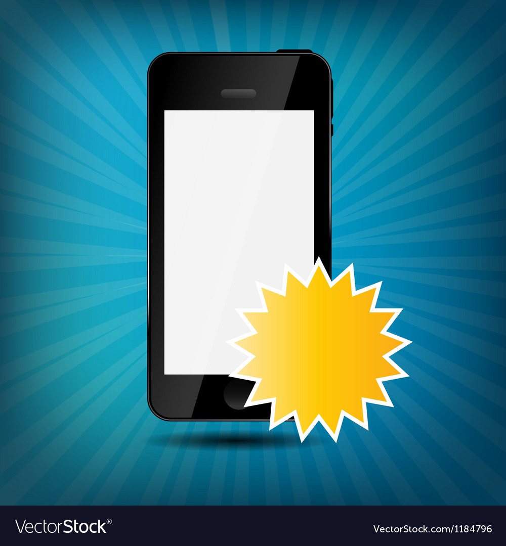 Abstract mobile phone vector | Price: 1 Credit (USD $1)
