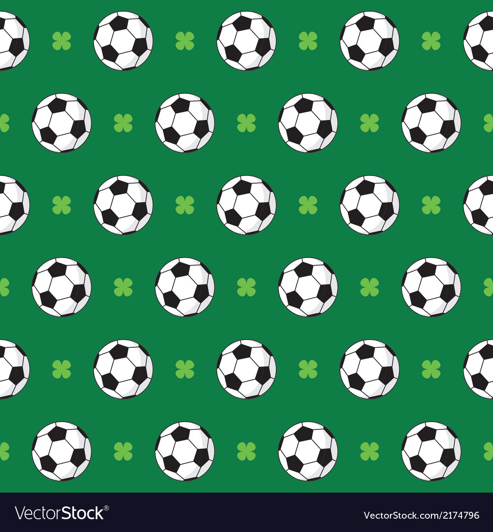 Football or soccer pattern vector | Price: 1 Credit (USD $1)