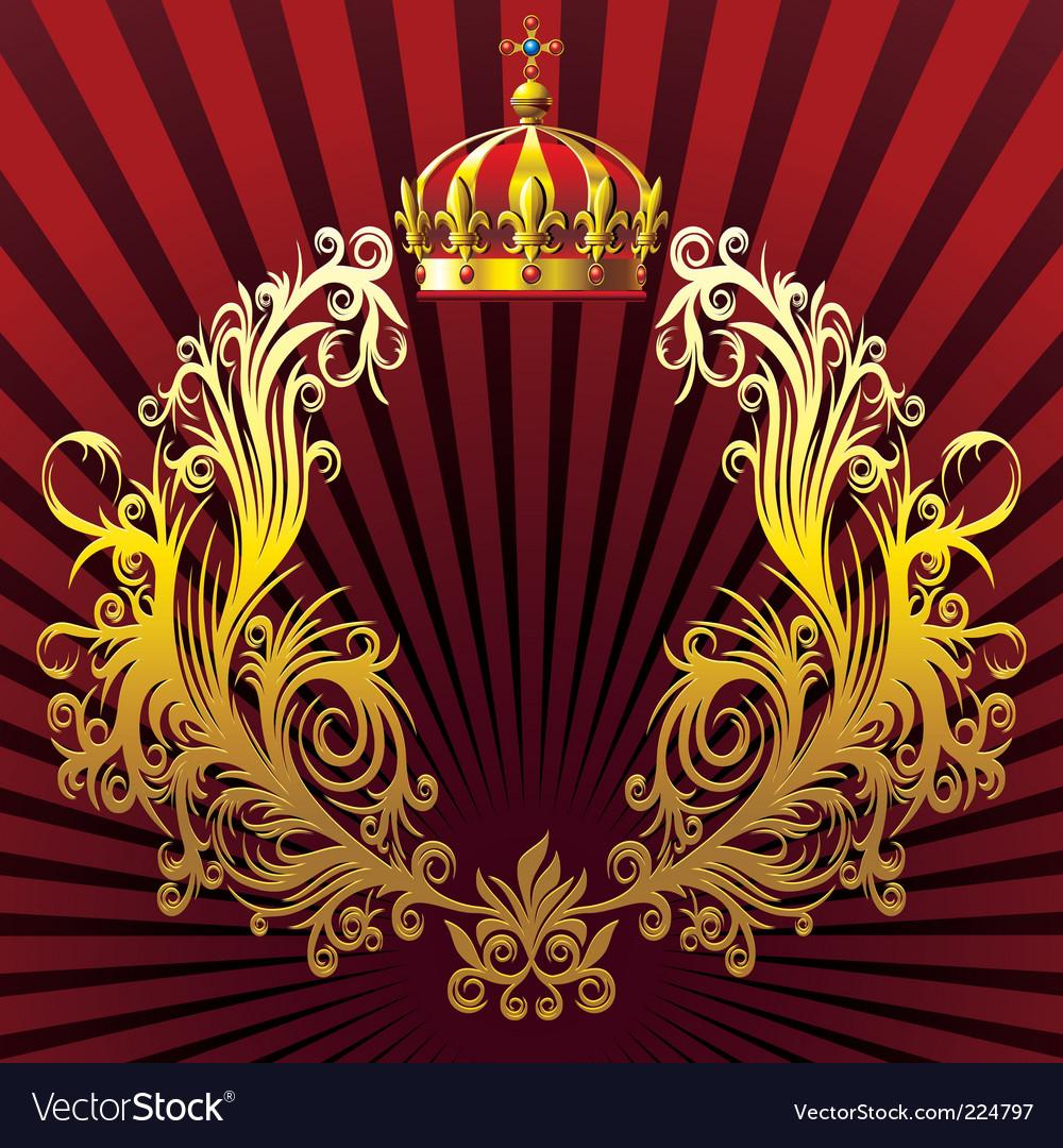 Heraldic composition vector | Price: 1 Credit (USD $1)