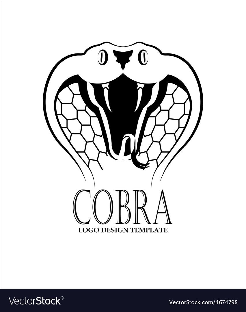 Cobra logo design template vector | Price: 1 Credit (USD $1)