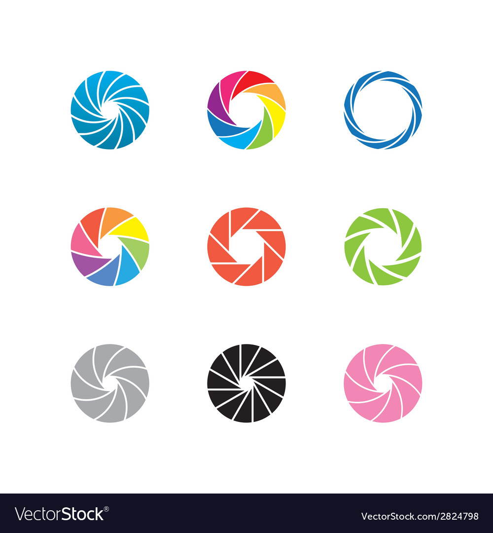 Color shapes vector | Price: 1 Credit (USD $1)