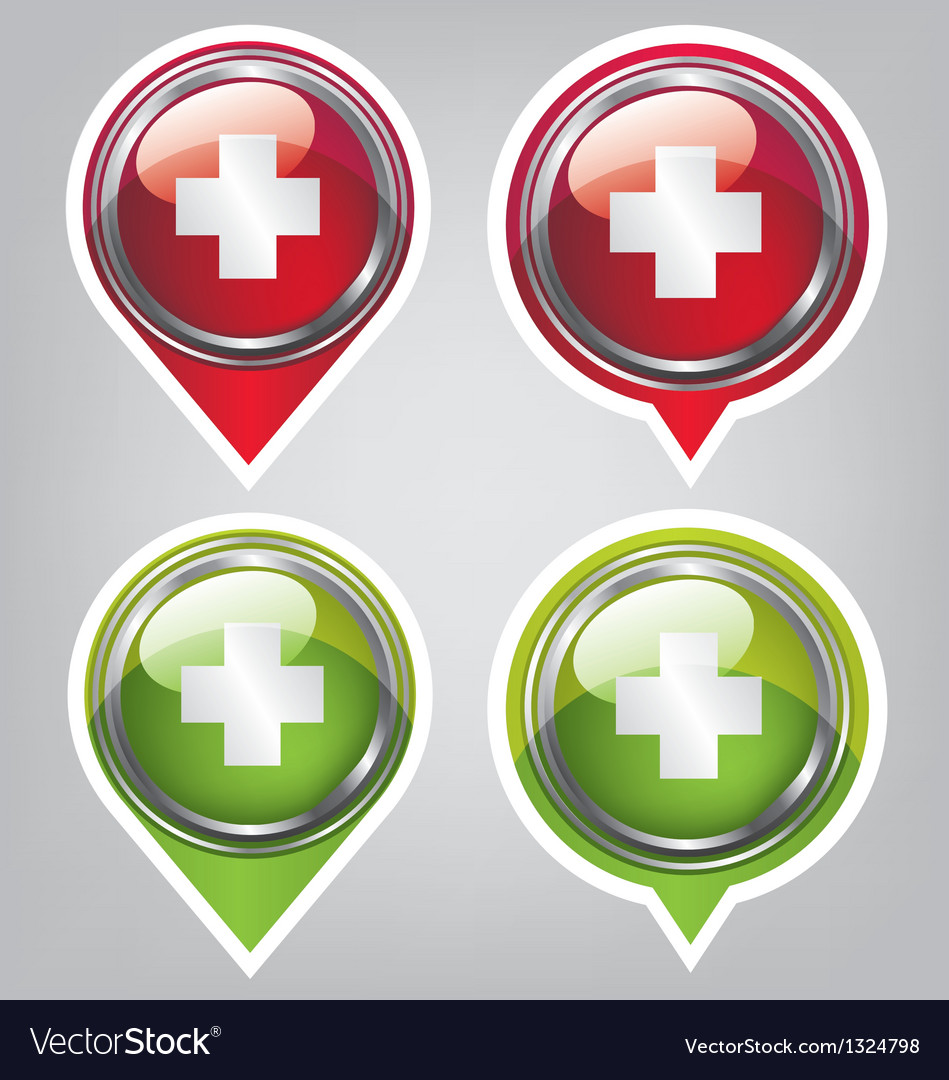 First aid icon vector | Price: 1 Credit (USD $1)