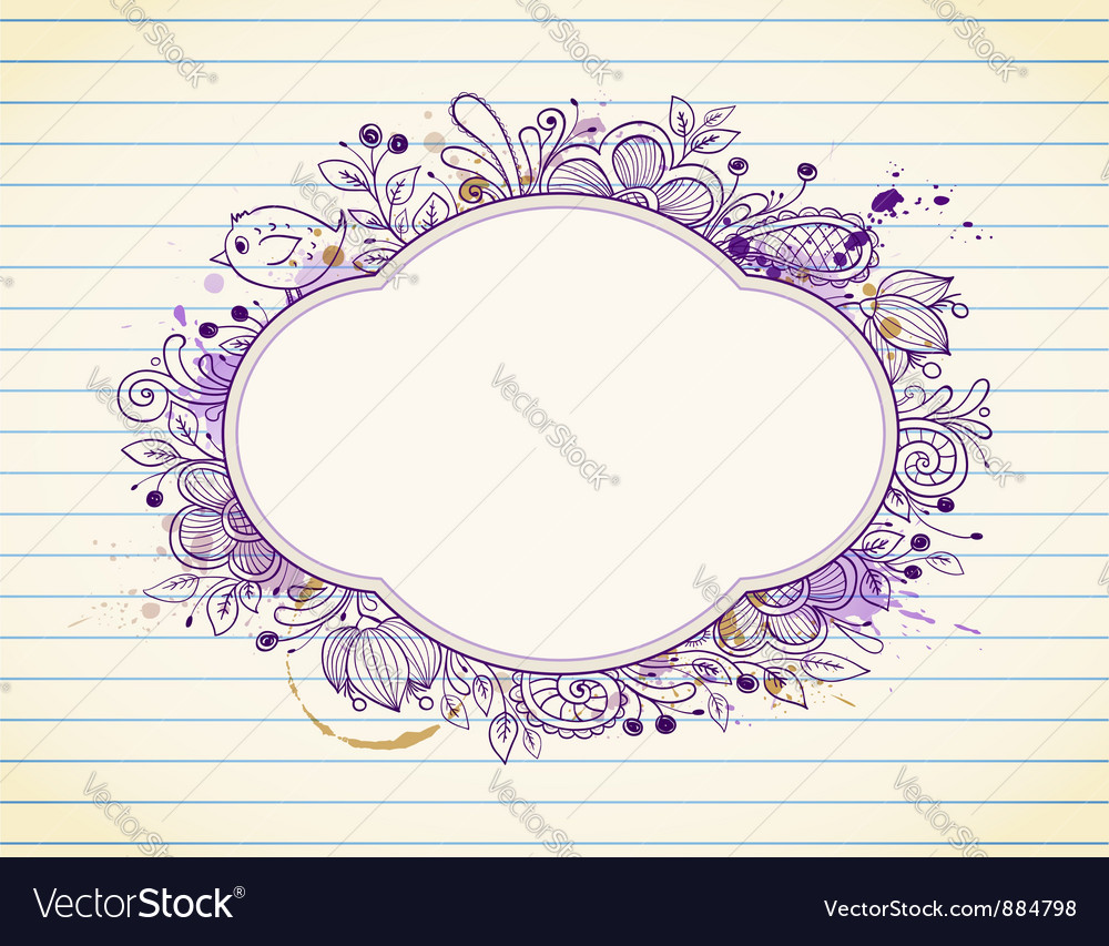 Label ornament vector | Price: 1 Credit (USD $1)