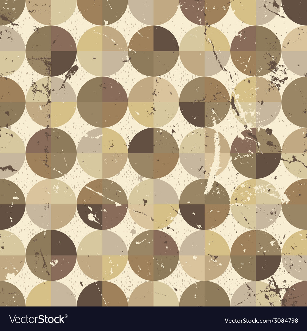 Seamless geometric tiles with dirty texture vector | Price: 1 Credit (USD $1)