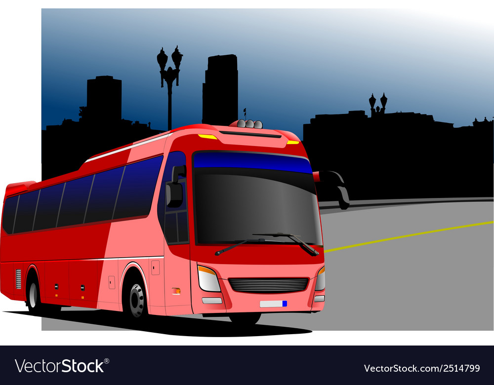 Al 0216 bus 02 vector | Price: 1 Credit (USD $1)
