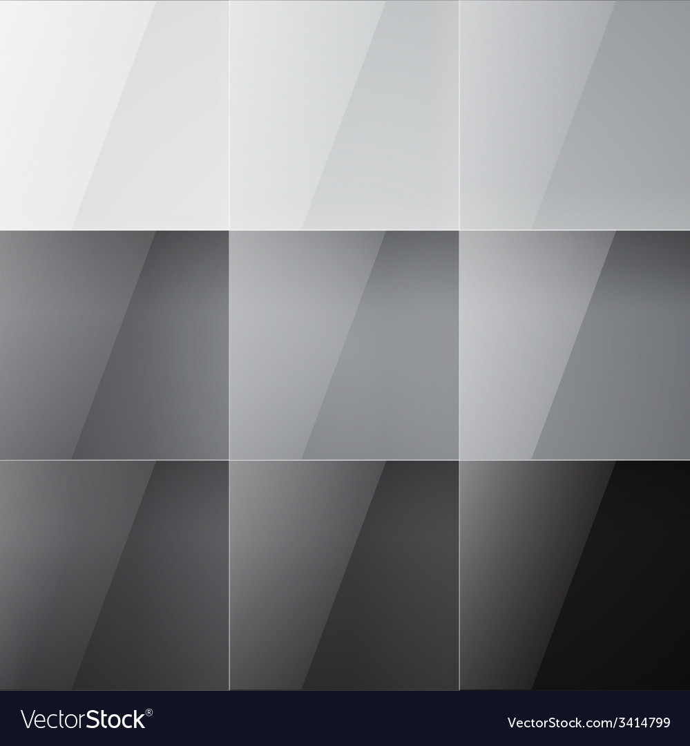 Gray shiny squares abstract background vector | Price: 1 Credit (USD $1)