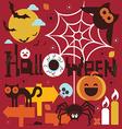 Halloween theme vector