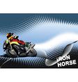Iron horse vector