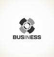 In business monochrome vector