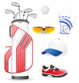 Golf 13 vector