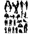 Romantic couples set vector