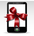 Mobile gift vector