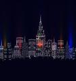 City colourful vector