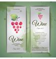 Grapes or wine concept design corporate identity vector