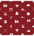 Japanese icons seamless pattern eps10 vector