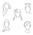 Hair style vector